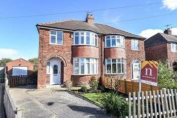 3 Bedrooms Semi Detached House for sale in Queenswood Grove, YO24 4