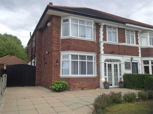 4 Bedrooms Semi Detached House for sale in Glenavon Road, Prenton, Merseyside