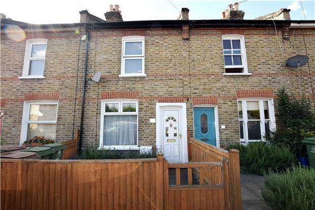 2 Bedrooms Terraced House for sale in Wandle Road, WALLINGTON, Surrey, SM6 7ET