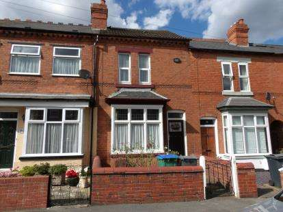 2 Bedrooms Terraced House for sale in Loxley Road, Bearwood, West Midlands
