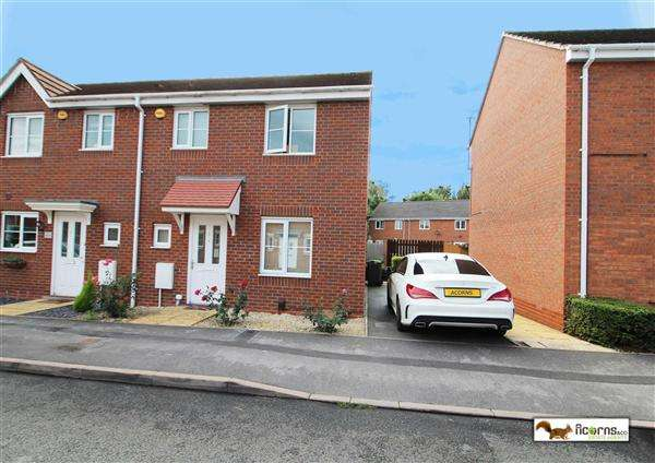 3 Bedrooms End Of Terrace House for sale in Roughbrook Road, Rushall