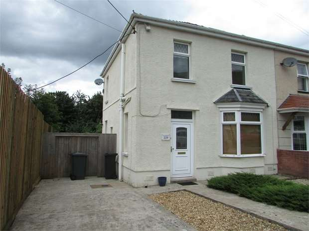 3 Bedrooms Semi Detached House for sale in Old Road, Neath, Neath, West Glamorgan