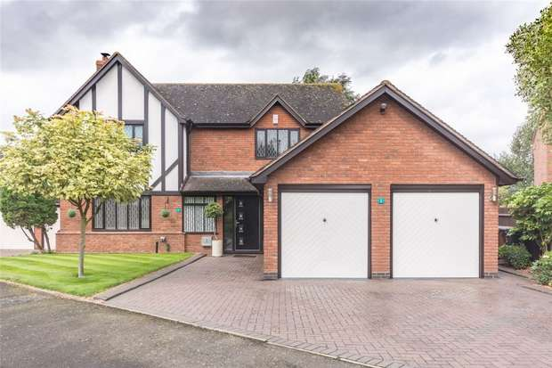 4 Bedrooms Detached House for sale in Blakeways Close, Edingale, Tamworth, Staffordshire