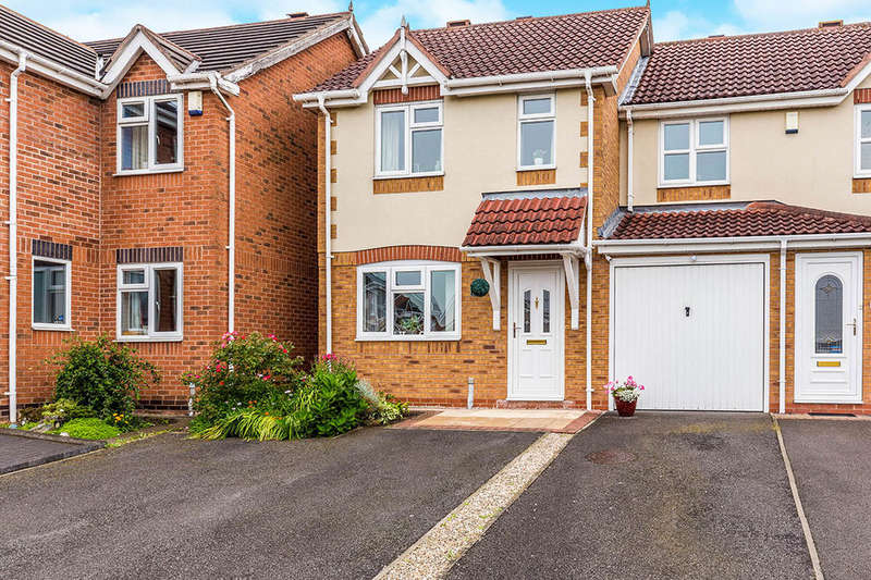 2 Bedrooms Semi Detached House for sale in The Gables, Newhall, Swadlincote, DE11