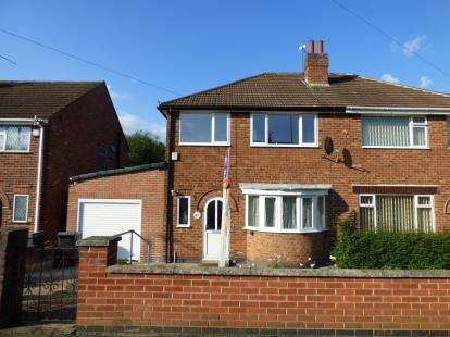 4 Bedrooms Semi Detached House for sale in Heacham Drive, Leicester