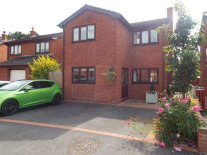 3 Bedrooms Detached House for sale in Bro Clywedog, Rhewl, Ruthin, Denbighshire, LL15