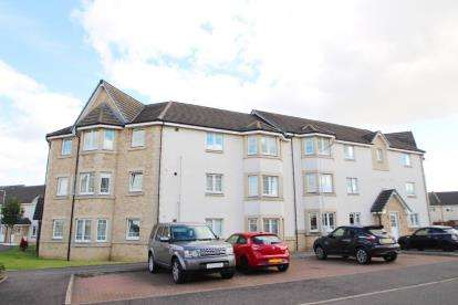 2 Bedrooms Flat for sale in Harrier Court, Dunfermline