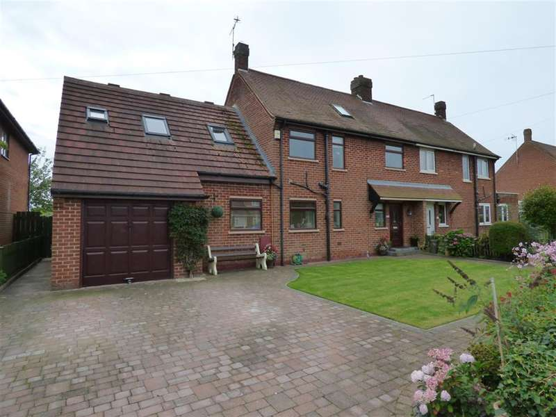 4 Bedrooms Semi Detached House for sale in Main Street, Tickton, Beverley, HU17 9SH