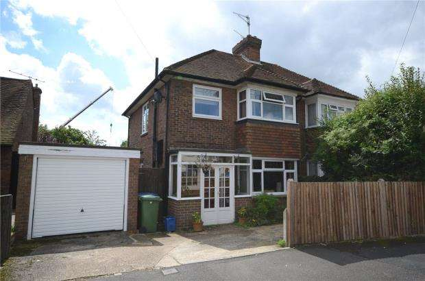 3 Bedrooms Semi Detached House for sale in Southmead Road, Aldershot, Hampshire