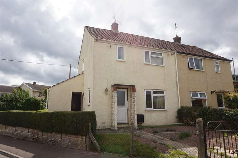 2 Bedrooms Semi Detached House for sale in Brynglas, Gilwern, Abergavenny, NP7