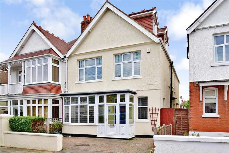 5 Bedrooms Semi Detached House for sale in Cliffe Avenue, Margate, Kent