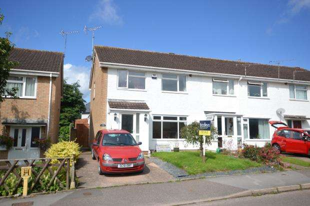 3 Bedrooms End Of Terrace House for sale in Warrens Mead, Sidford, Sidmouth, Devon