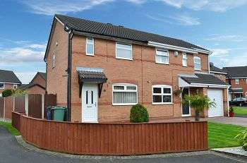 2 Bedrooms Semi Detached House for sale in The Coverts, Springfield, Wigan, WN6 7SL