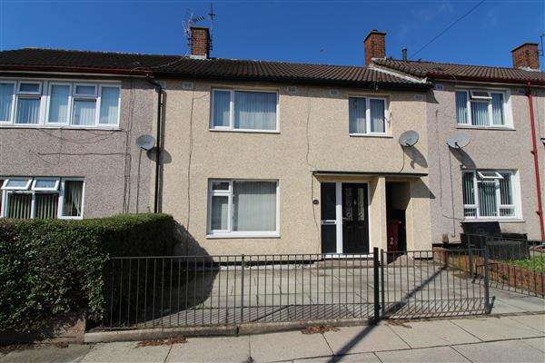 3 Bedrooms Terraced House for sale in Bewley Drive, Kirkby