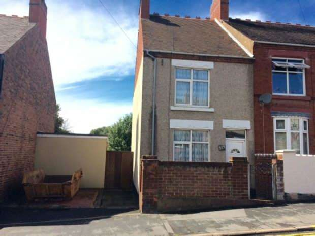 2 Bedrooms End Of Terrace House for sale in Bucks Hill, Nuneaton