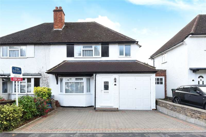3 Bedrooms Semi Detached House for sale in Mill Way, Mill End, Hertfordshire, WD3