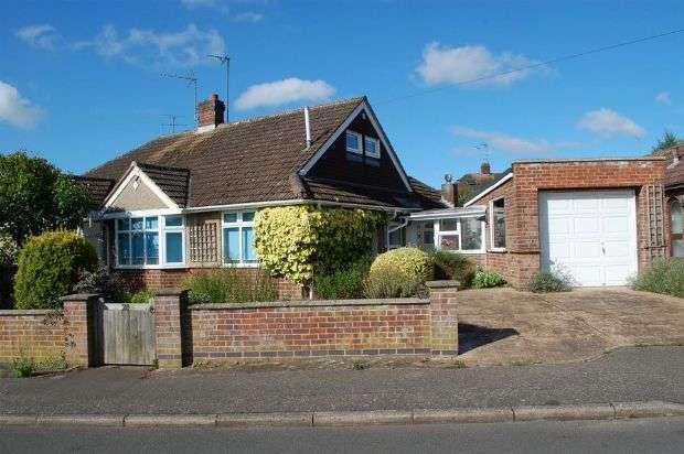 3 Bedrooms Semi Detached Bungalow for sale in Muscott Lane, Duston Village, Northampton NN5 6HR