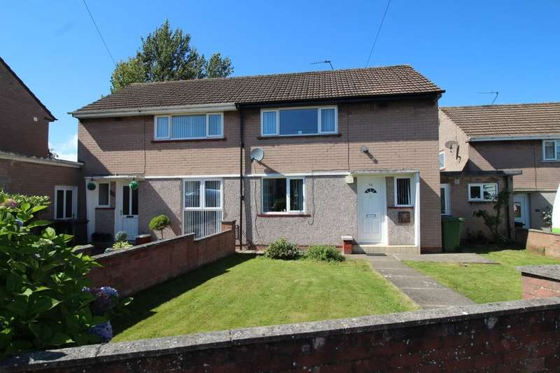 2 Bedrooms Semi Detached House for sale in Castlerigg Drive, Carlisle, CA2