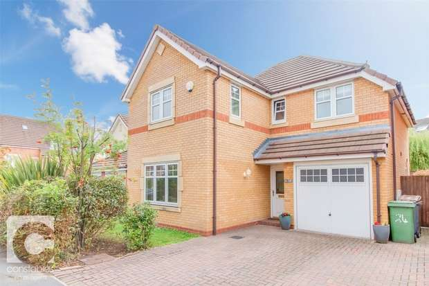 4 Bedrooms Detached House for sale in Glamis Close, Prenton, Merseyside