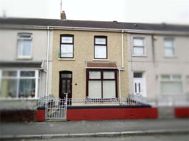 3 Bedrooms Terraced House for sale in Lawrence Terrace, Llanelli, Carmarthenshire