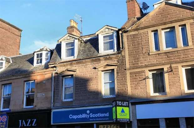 3 Bedrooms Maisonette Flat for sale in High Street, Crieff, Perth and Kinross