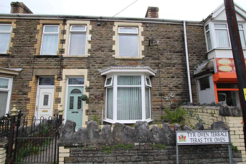 3 Bedrooms Terraced House for sale in Ty`r Owen Terrace, Port Talbot