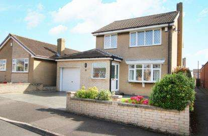 3 Bedrooms Detached House for sale in Romeley Crescent, Clowne, Chesterfield, Derbyshire