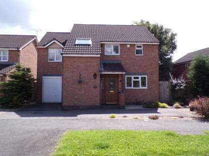 4 Bedrooms Detached House for sale in Taverner Drive, Ratby, Leicester, Leicestershire