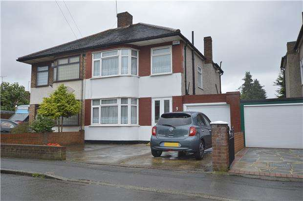 3 Bedrooms Semi Detached House for sale in Three bedroom Semi-Detached house less than a mile from Romford Station & Town Centre