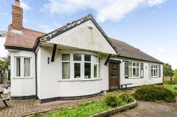 4 Bedrooms Detached Bungalow for sale in Hall Lane, Hammerwich, Burntwood, Staffordshire