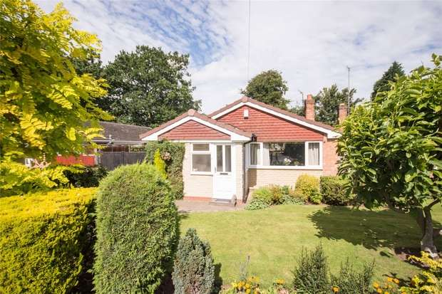 2 Bedrooms Semi Detached Bungalow for sale in Hayworth Road, Lichfield, Staffordshire