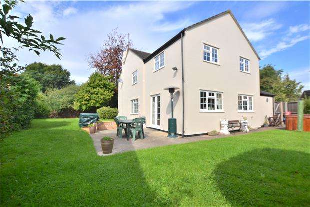 4 Bedrooms Detached House for sale in Millhay, Green Lane, Hucclecote, GLOUCESTER, GL3 3RB