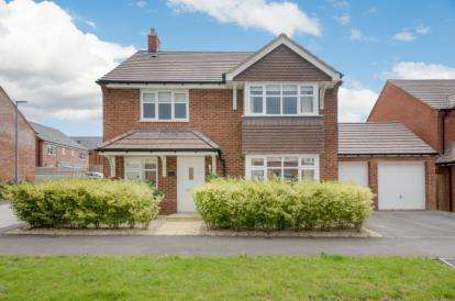 4 Bedrooms Detached House for sale in Dickens Lane, Newton Leys, Bletchley, Milton Keynes