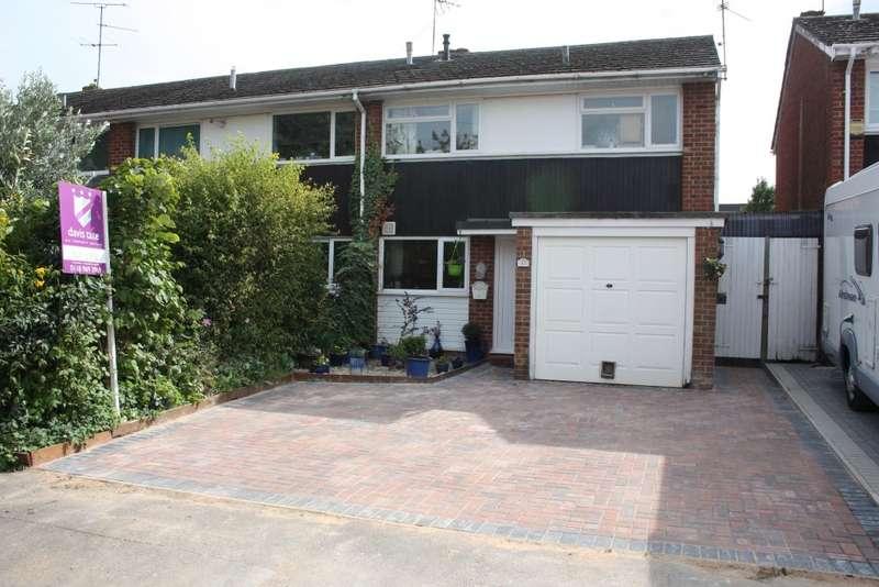 3 Bedrooms Semi Detached House for sale in Wedderburn Close, Winnersh, Wokingham, RG41