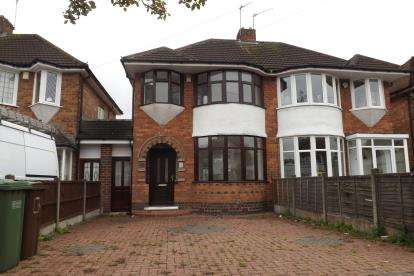 3 Bedrooms Semi Detached House for sale in Wellsford Avenue, Solihull, Birmingham, West Midlands