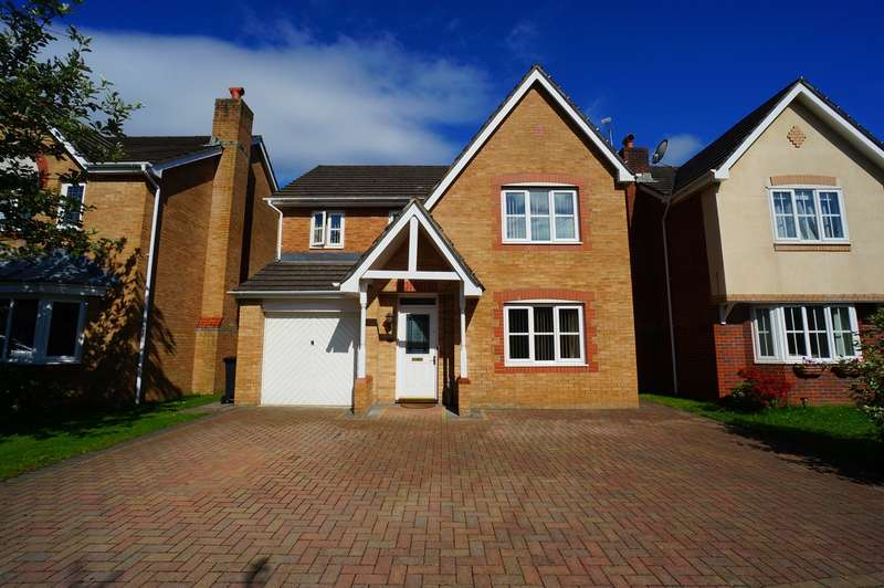 4 Bedrooms Detached House for sale in Lupin Grove, Rogerstone, Newport, NP10