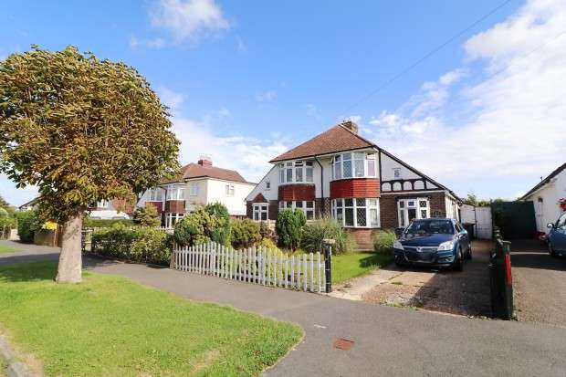 3 Bedrooms Semi Detached House for sale in Broad Road, Willingdon, Eastbourne, BN20