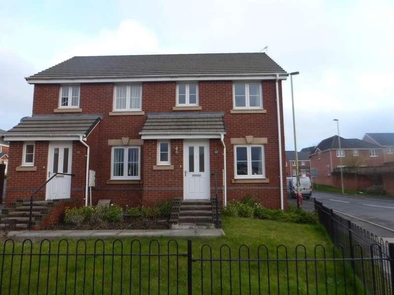 3 Bedrooms Semi Detached House for sale in Ffordd Y Dolau, Llanharan, Pontyclun