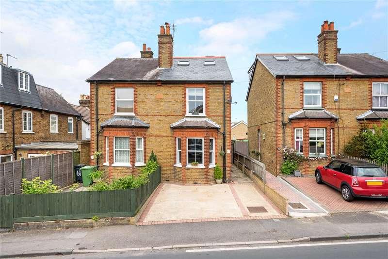 3 Bedrooms Semi Detached House for sale in Burgh Heath Road, Epsom, Surrey, KT17