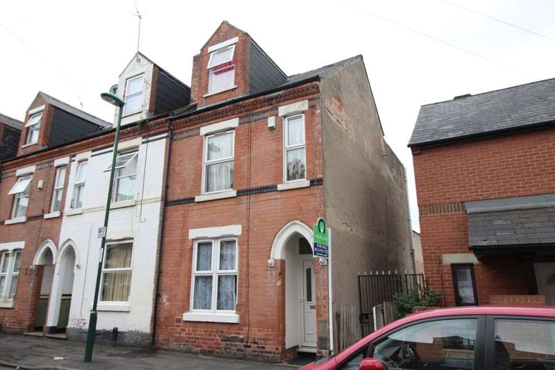 3 Bedrooms Property for sale in St. Pauls Avenue, Nottingham, NG7