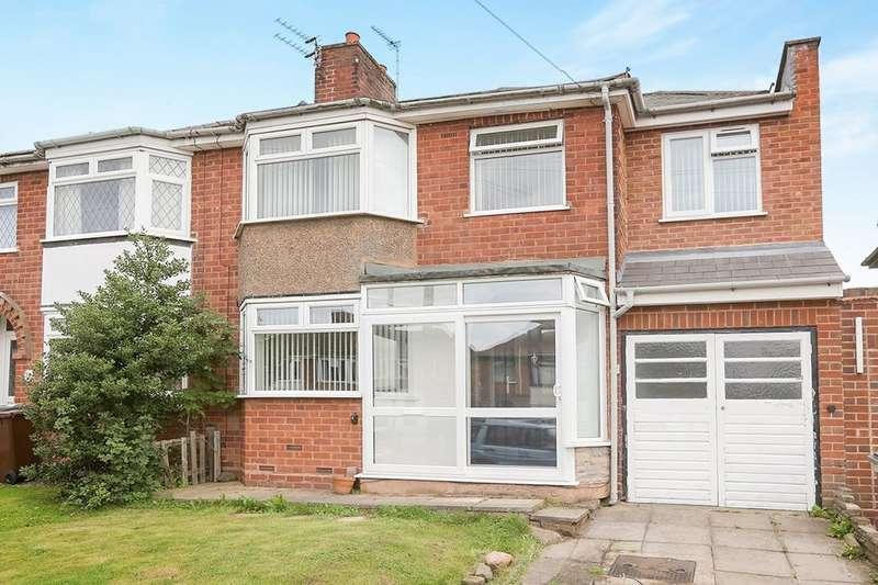 4 Bedrooms Semi Detached House for sale in Fancourt Avenue, Wolverhampton, WV4