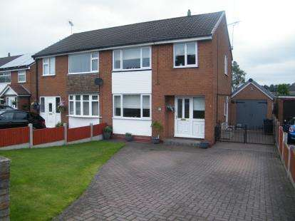 4 Bedrooms Semi Detached House for sale in Whitlow Lane, Moulton, Cheshire, England