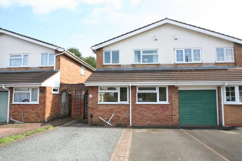 4 Bedrooms Semi Detached House for sale in Allan Close, Stourbridge