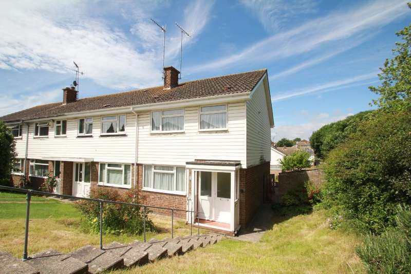3 Bedrooms End Of Terrace House for sale in Downsway, Shoreham by Sea, West Sussex, BN43 5GN