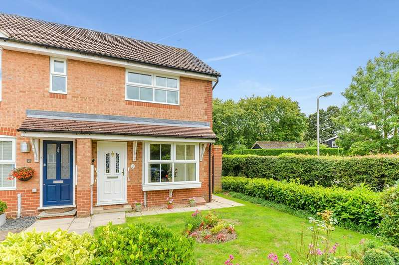 2 Bedrooms Semi Detached House for sale in Rib Close, Standon, Standon, SG11