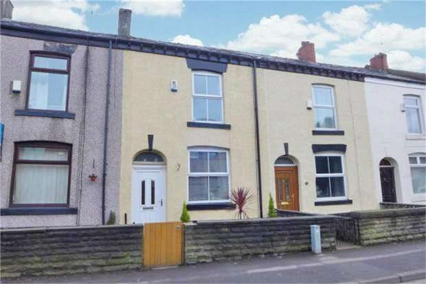 2 Bedrooms Terraced House for sale in Queens Park Road, Heywood, Lancashire