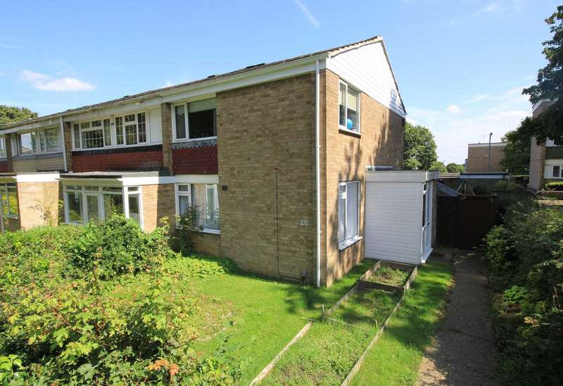 2 Bedrooms End Of Terrace House for sale in 2 DOUBLE BEDROOMS - SCOPE FOR EXTENSION - CORNER PLOT, HP2