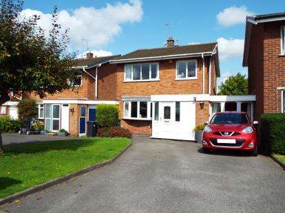 3 Bedrooms Detached House for sale in Leigh Close, Walsall, West Midlands
