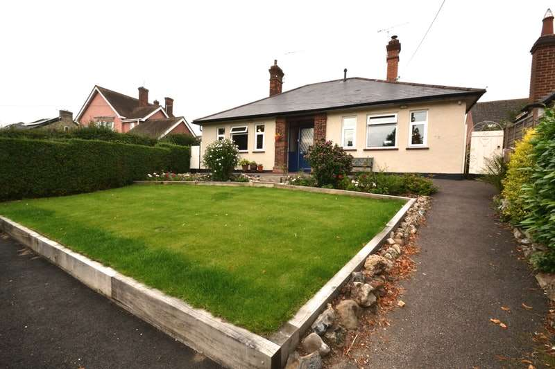 3 Bedrooms Bungalow for sale in Melford Road, Sudbury, Suffolk, CO10