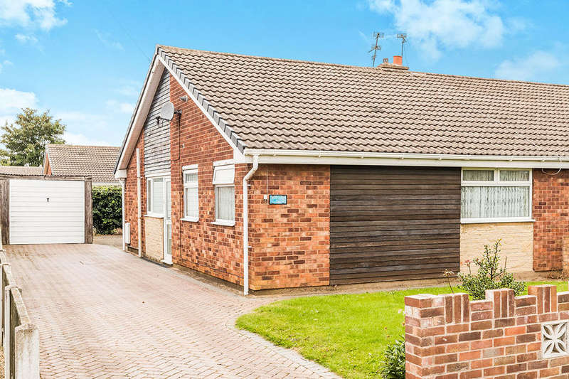 3 Bedrooms Semi Detached Bungalow for sale in Fairfield Court, Armthorpe, Doncaster, DN3